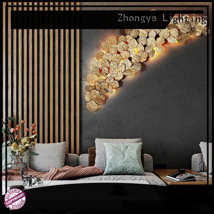 Decorative Wall Lights Interior Branch For Lobby Zhongye